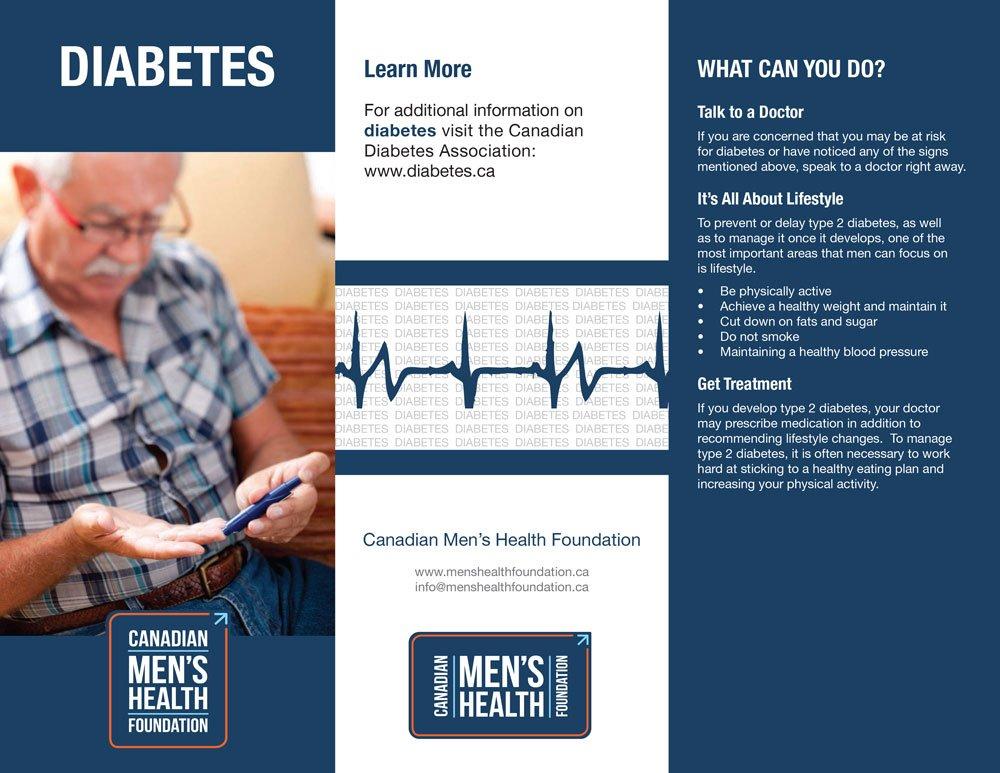 CMHF type 2 diabetes brochure, page 1