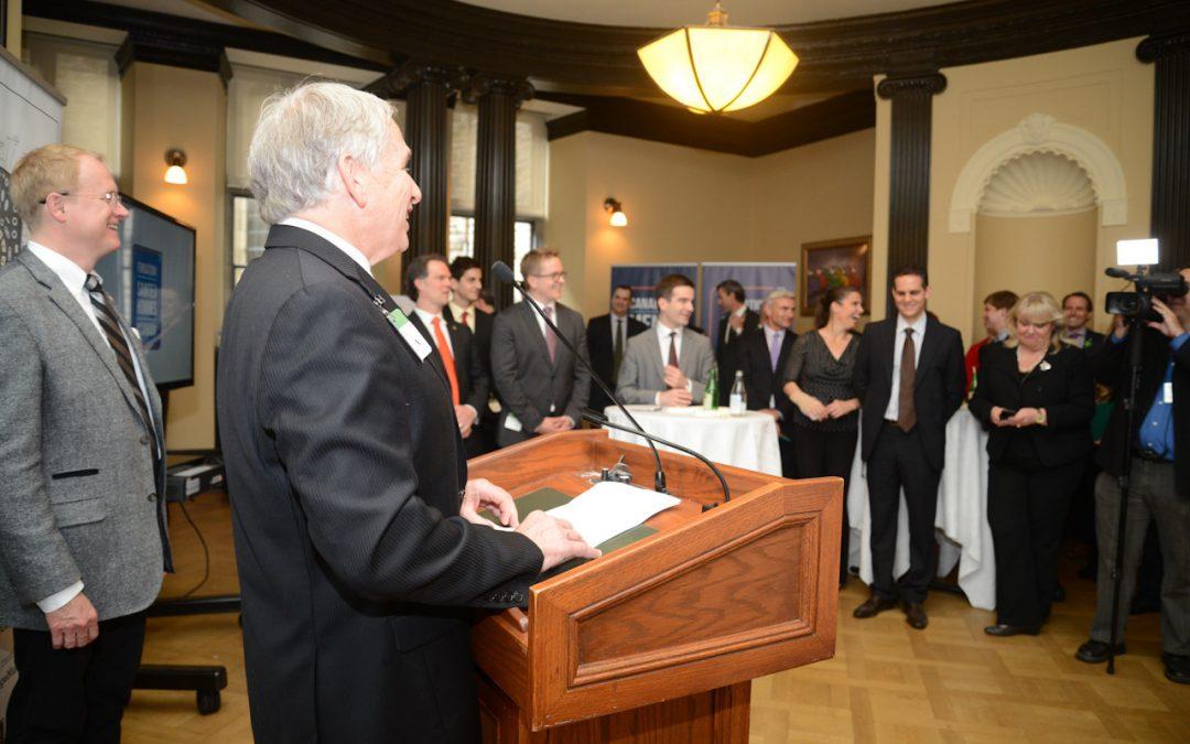 Highlights of Dr. Goldenberg's Speech at the CMHF Launch