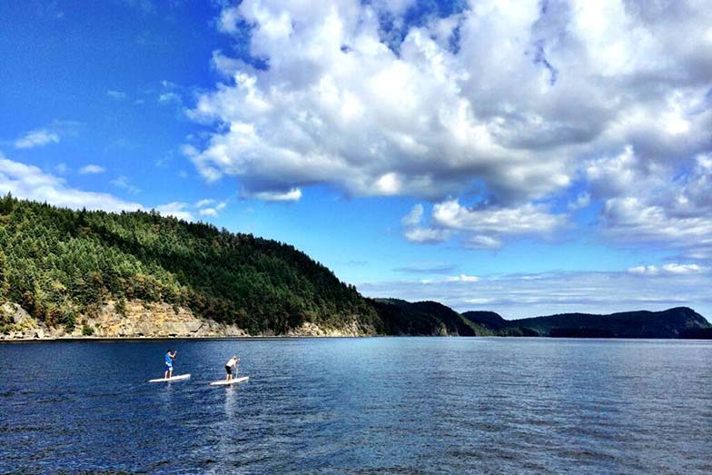 Stand Up For Men's Health paddle boarders finish Day 1