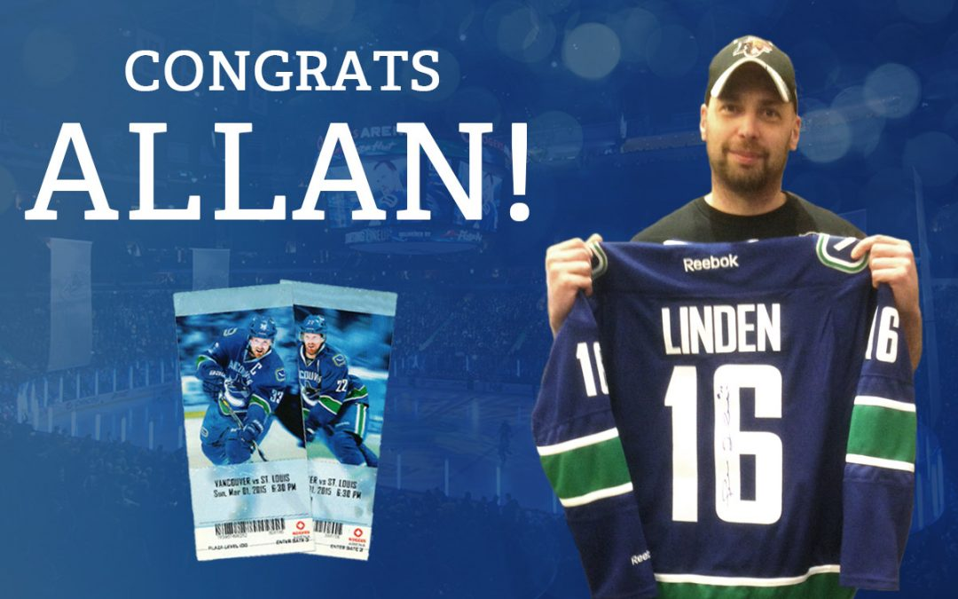 Canucks Contest Winner