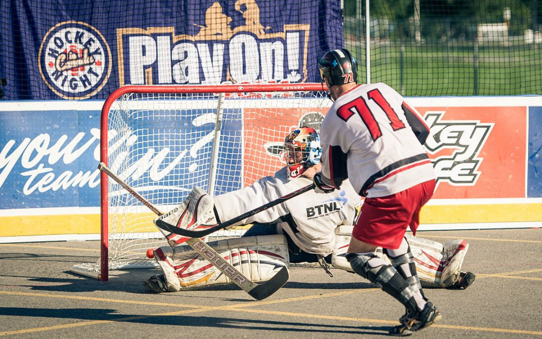 The Ultimate Summer Street Hockey Experience