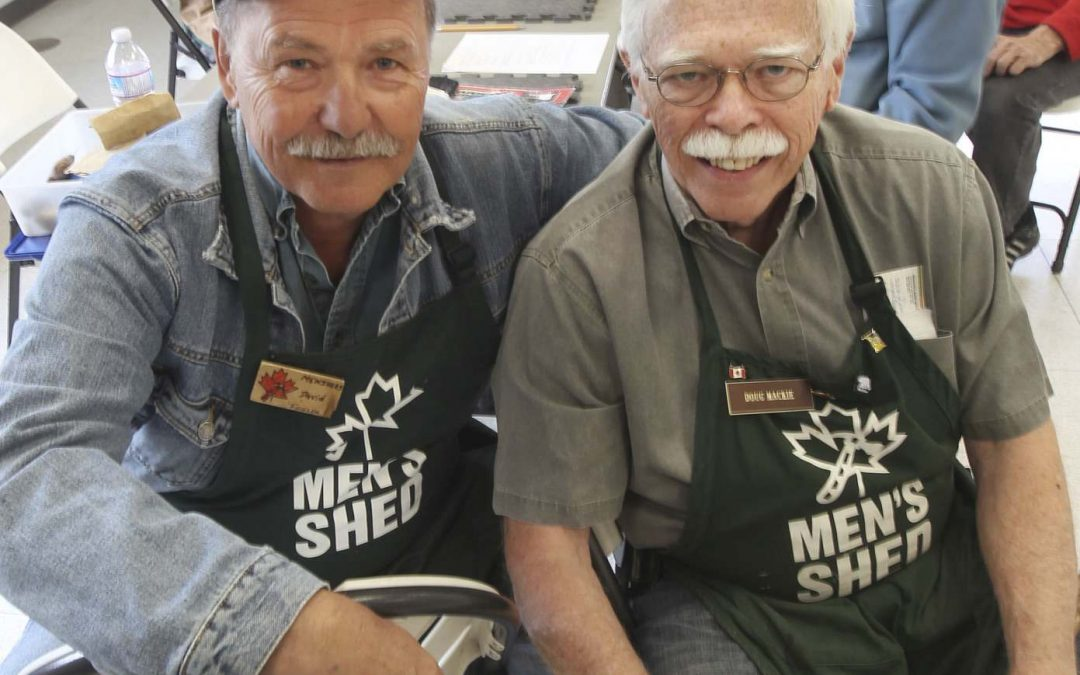 Stealth health Men's Shed provides retirees with camaraderie, improves well-being