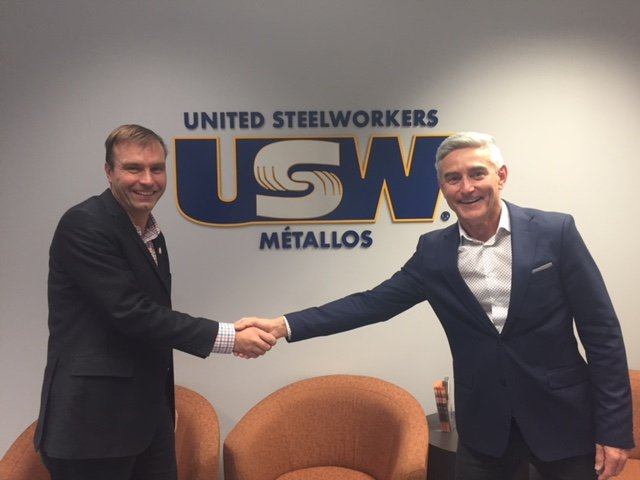 United Steelworkers Join CMHF's National Campaign To Promote Men's Health Social Movement