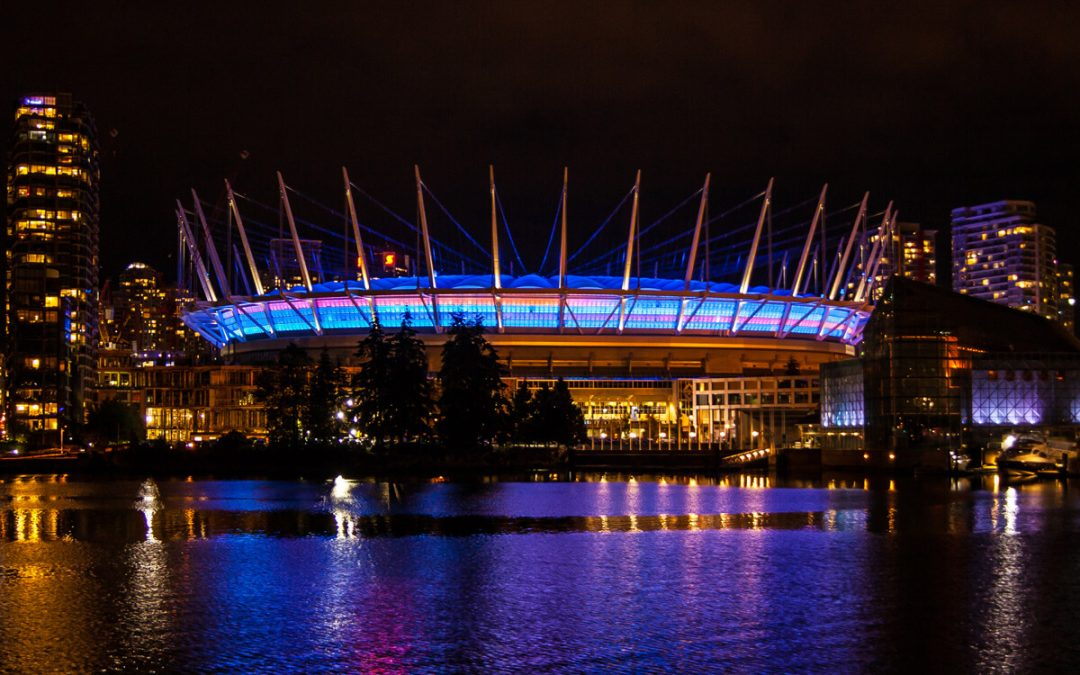 BC Lights Up for Canadian Men's Health Week