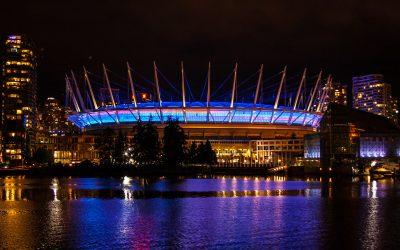 BC Lights Up for Canadian Men's Health Week