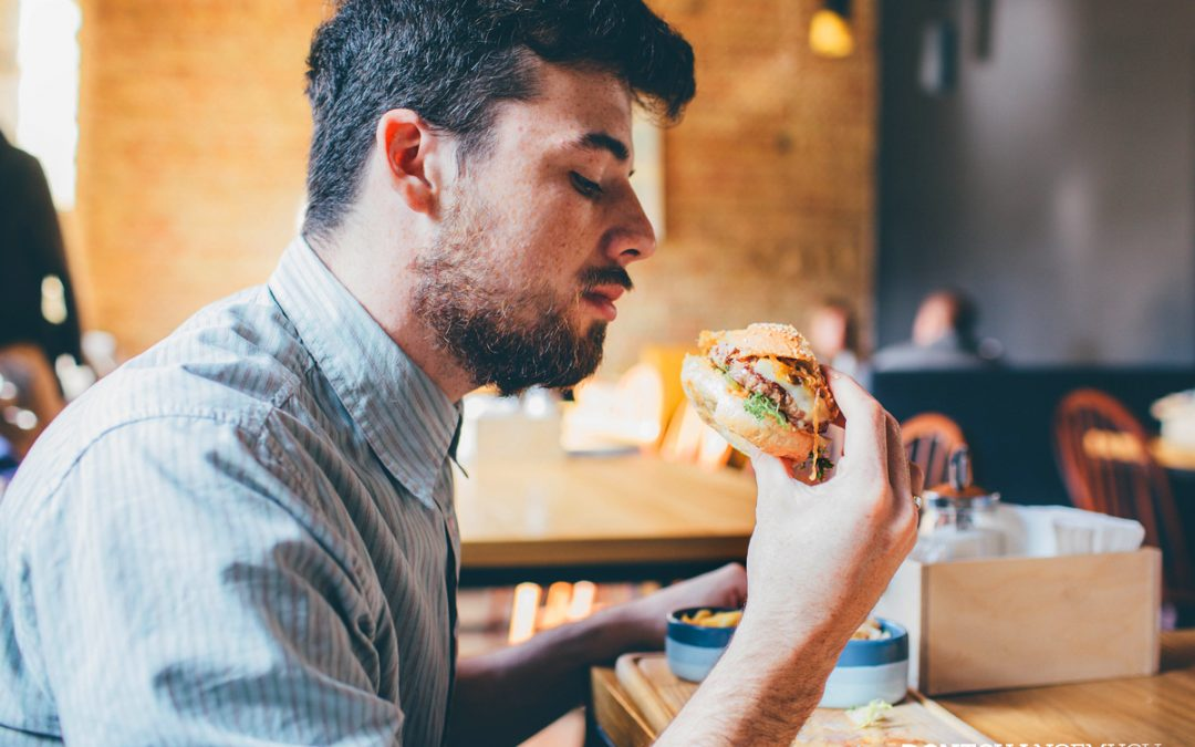 Reducing Fatty Foods, Sugar and Salt Will Benefit Men's Health in the Long Haul