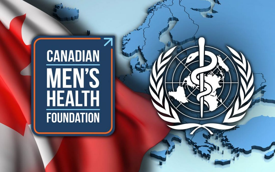 New men's health strategy from WHO Europe echoes key CMHF messages