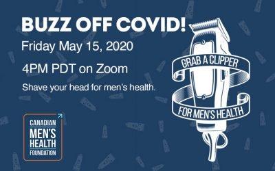 BUZZ OFF COVID: Shave Your Head For Men's Health