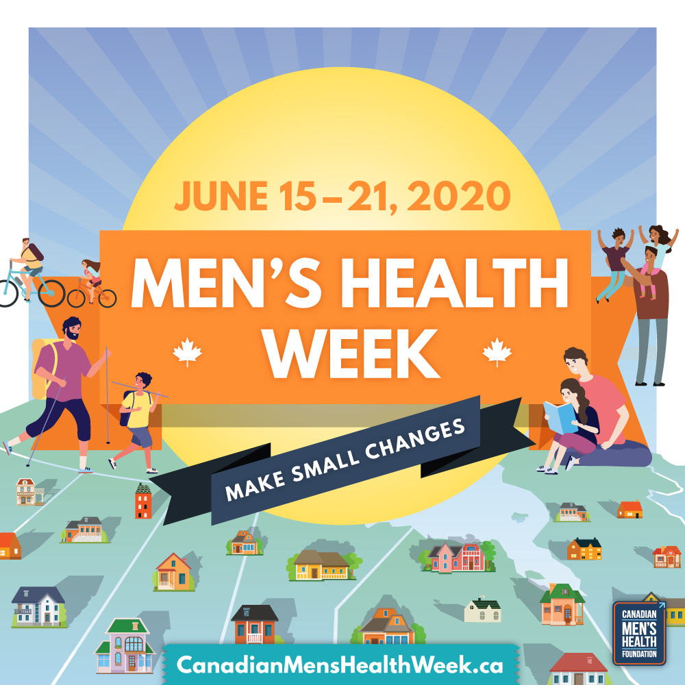 Canadian Men's Health Week 2020 Badge