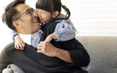 New men's health studies reveal COVID silver lining: Stronger father-child connections