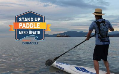 Stand Up Paddle for Men's Health