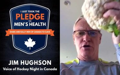Hear the Voice of Hockey Night in Canada's Men's Health Week Pledge