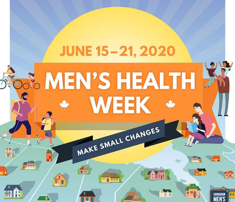 Thank You for Supporting Canadian Men's Health Week