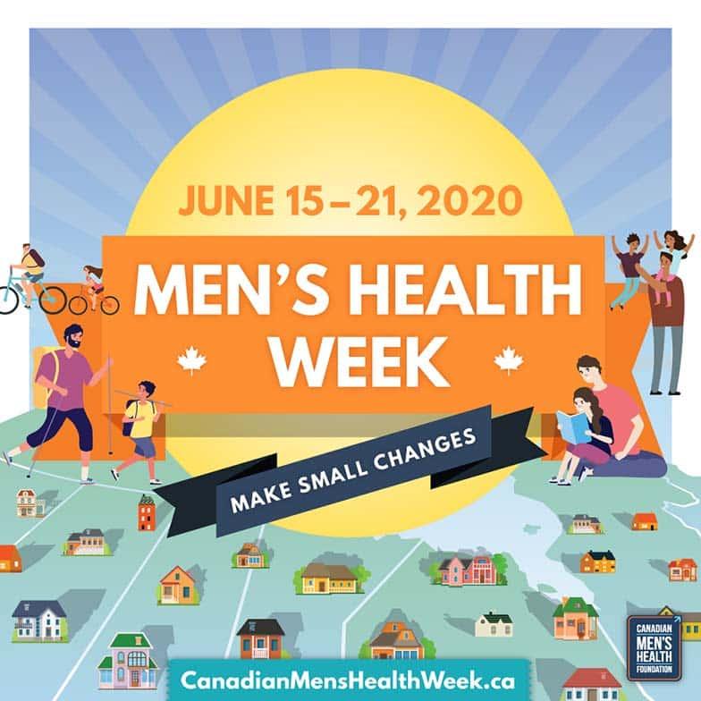 Men's Health Week, June 15-21, 2020