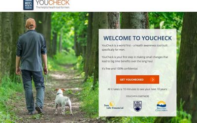 YouCheck.ca Breaks New Ground for Men's Health Awareness