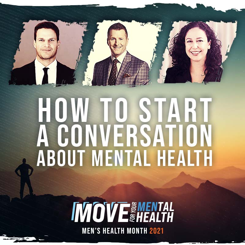How to Start A Conversation About Mental Health with Kevin Bieksa