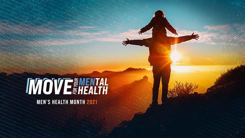 CMHF's Men's Health Month Targets Mental Health